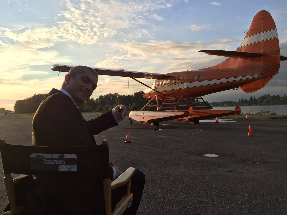 gil darnell on supernatural set