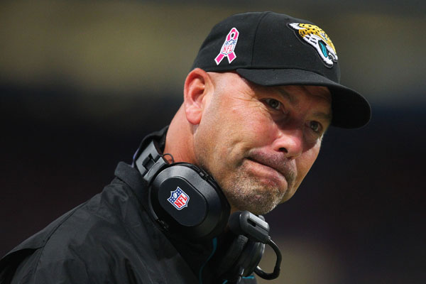 jaguars gus bradley top of list for coaches on nfl hot seat 2016 images