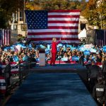 hillary clinton election rally