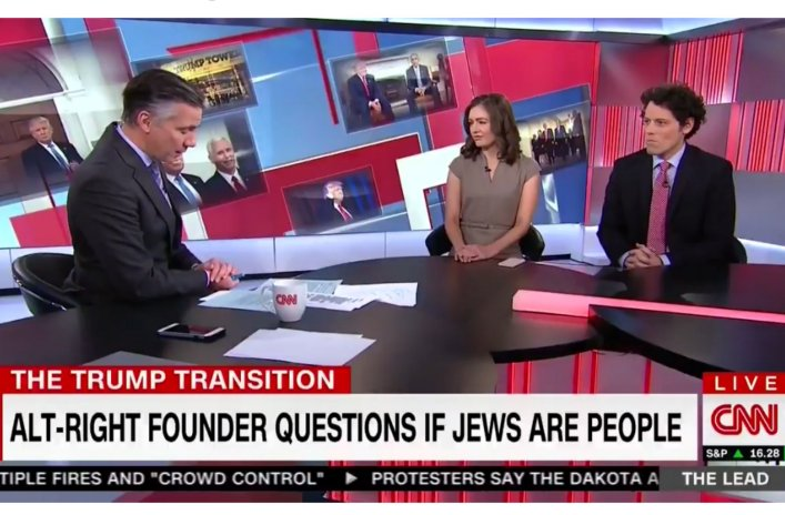jake tapper horrified over jews people alt right
