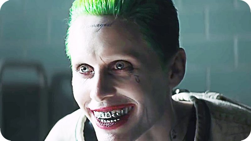 jared leto joker scenes out from suicide squad movie