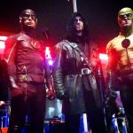 jason jay bell on the flash with stunt men
