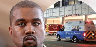 kanye wests headline packed year ends with a hospital stay 2016 images