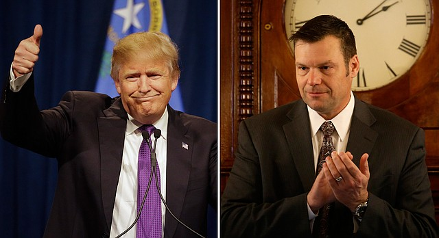 kris kobach already has tough immigration plan for donald trump 2016 images