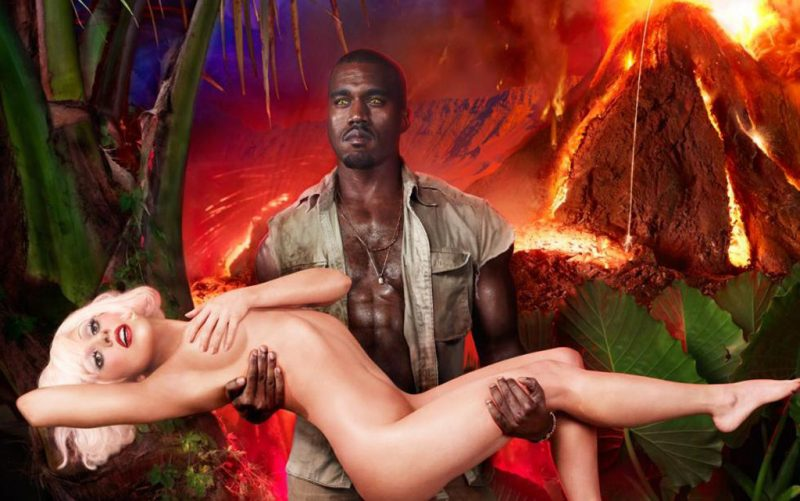 lady gaga with kanye west feud over after mental breakdown
