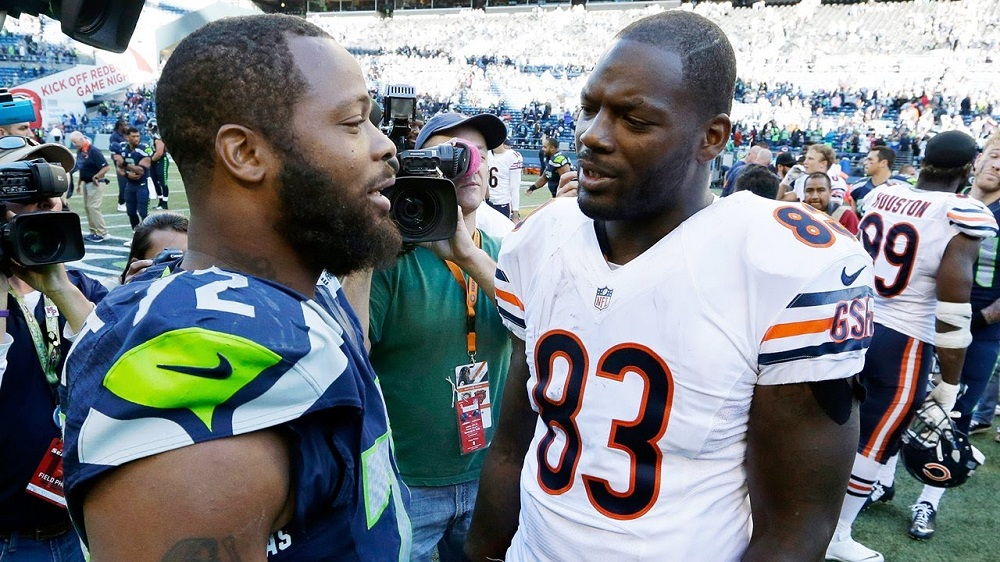 Martellus and Michael Bennett miss out on Super Bowl XLIX rematch 2016 images