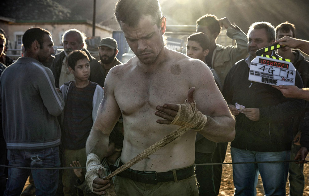 matt damon up in the air on more jason bourne 2016