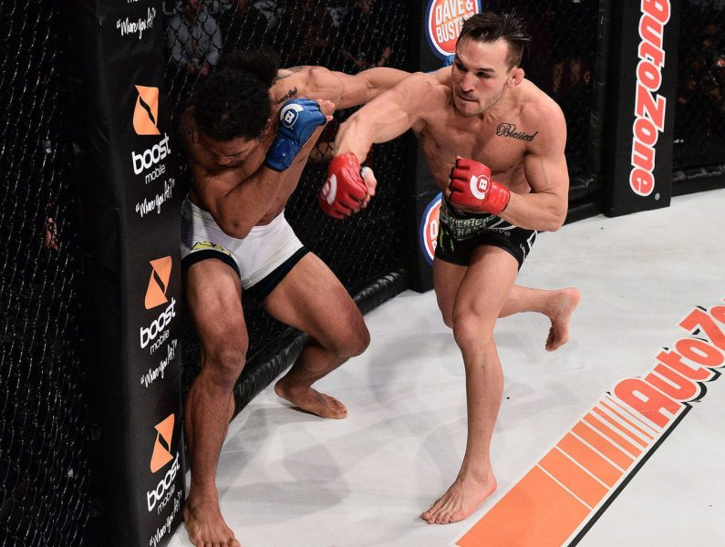 michael chandler vs benson henderson fight bellator 165