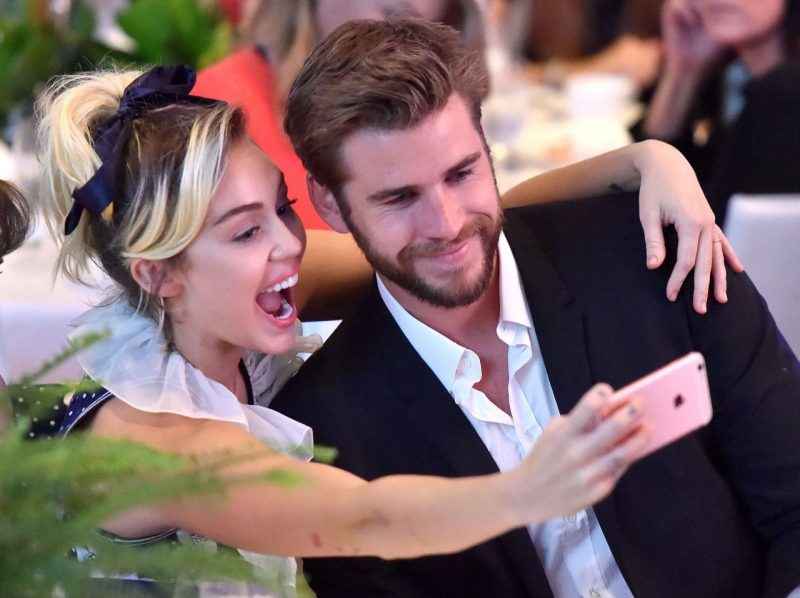 miley cyrus birthday with love liam hemsworth 2016 gossip
