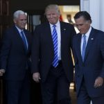 mitt romney meeting another test balloon for trump