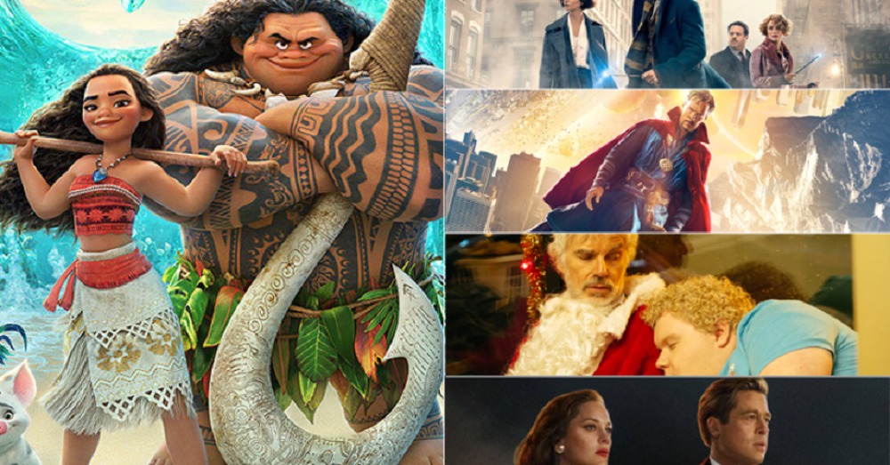 'Moana' tops Thanksgiving weekend box office 2016 images