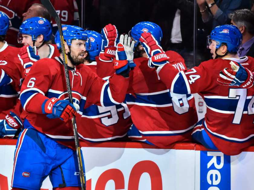Carey Price's Montreal Canadiens top the NHL's Super 16 2016 images