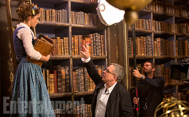 movie tv tech geeks beauty and the beast image ew emma watson bill condon
