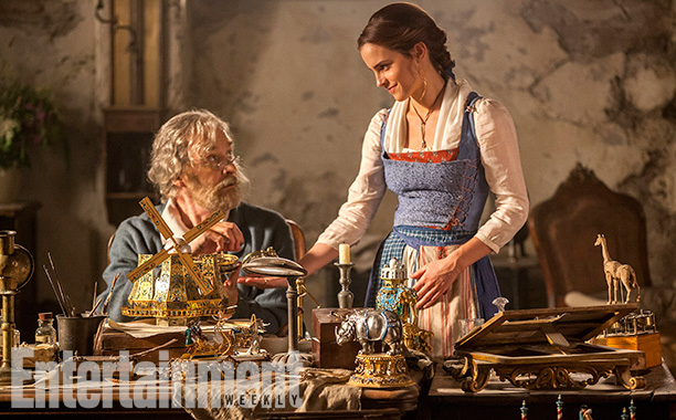 movie tv tech geeks beauty and the beast image ew kevin kline emma watson