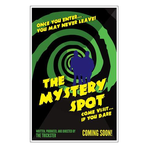 mystery spot superantural poster