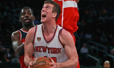 new york knicks gets sprinter marshall plumlees nba debut 2016 images