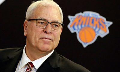 new york knicks have 'come to jesus' meeting with phil jackson 2016 images
