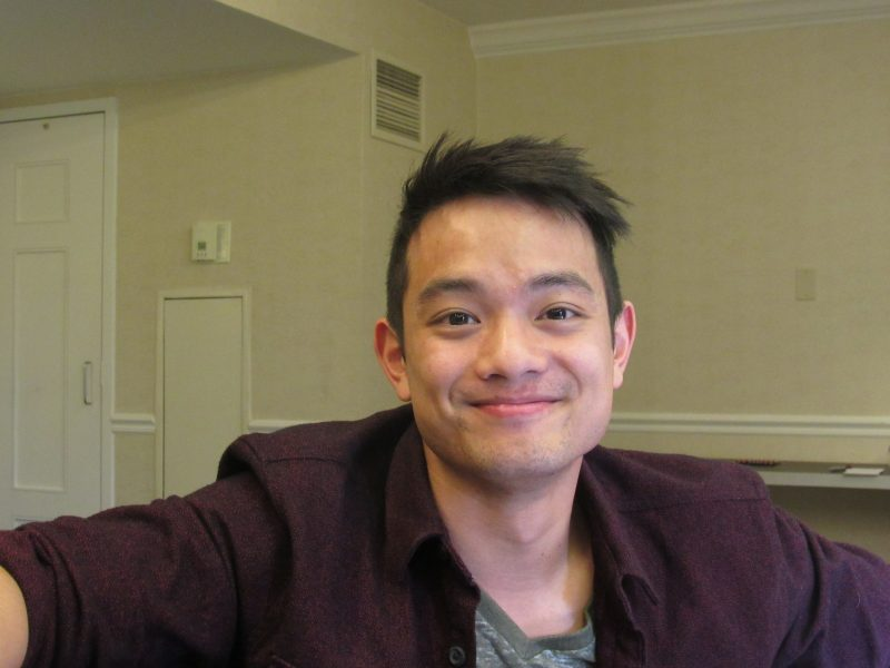 osric chau smile movie tv tech geeks interview