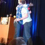 rob benedict and richard spreig movie tv tech geeks hug