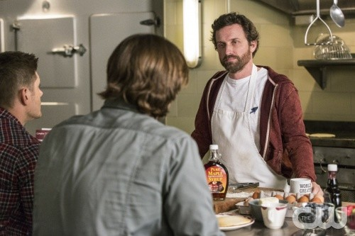 rob benedict pancakes supernatural movie tv tech geeks interview