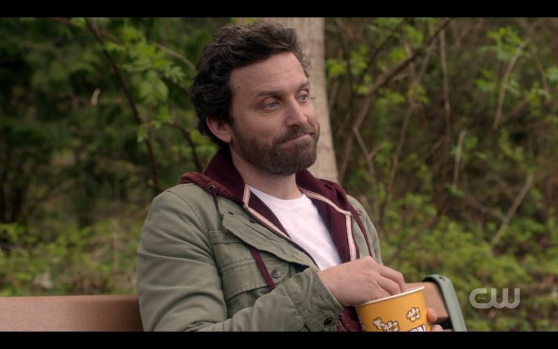 rob benedict supernatural interview movie tv tech geeks bench