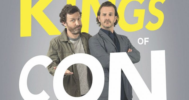 rob benedict talks up kings of con premiere night and a certain 911 call 2016 images
