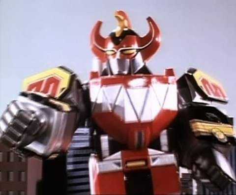 sleeker looking megazord figure