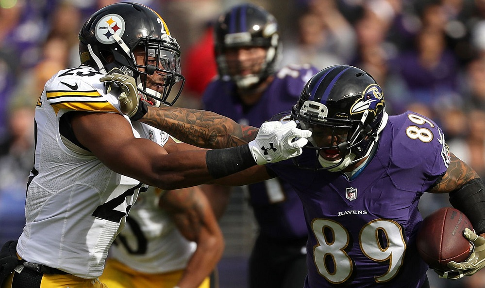 Steve Smith Sr. gets his shot at Mike Mitchell 2016 images
