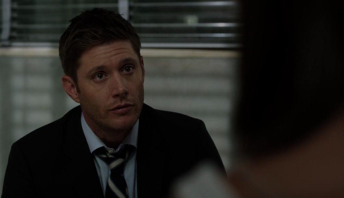 supernatural 1205 dean winchester on knees
