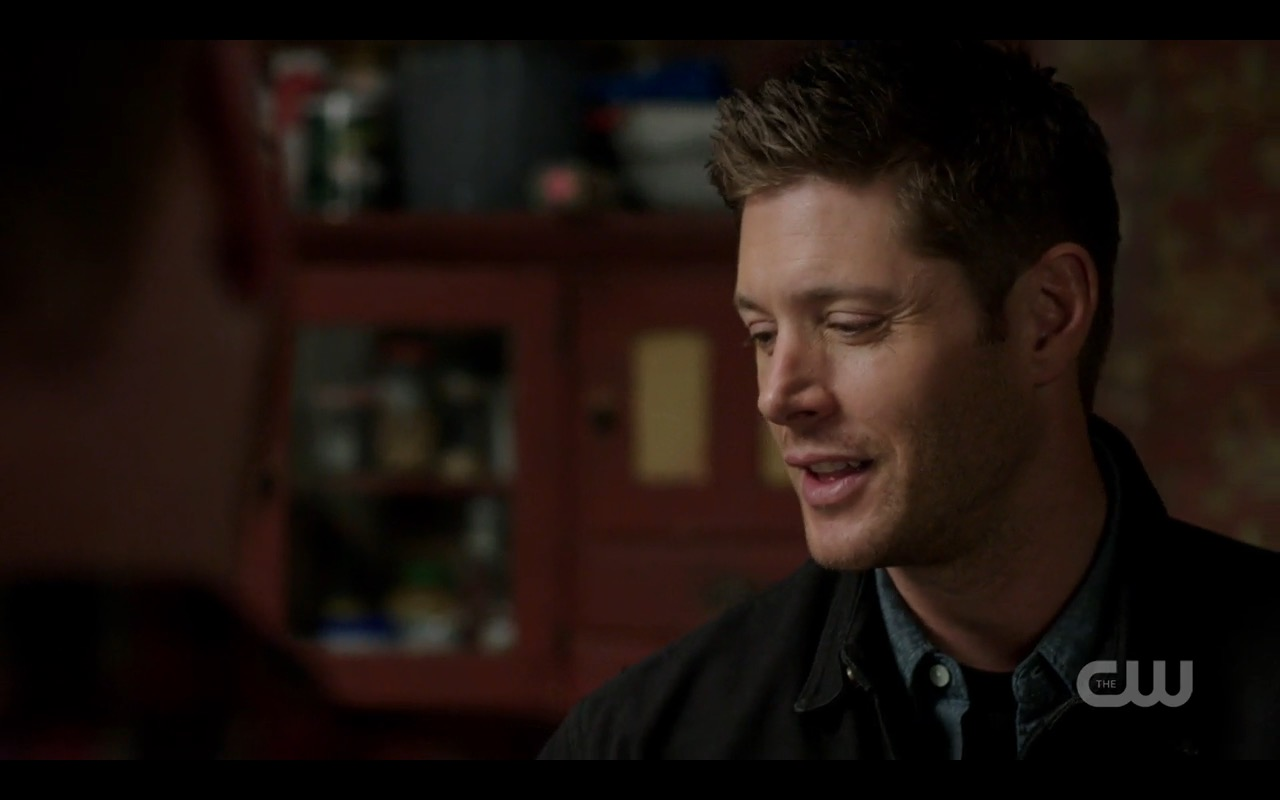 supernatural 1206 dean winchester bulge smile 2016