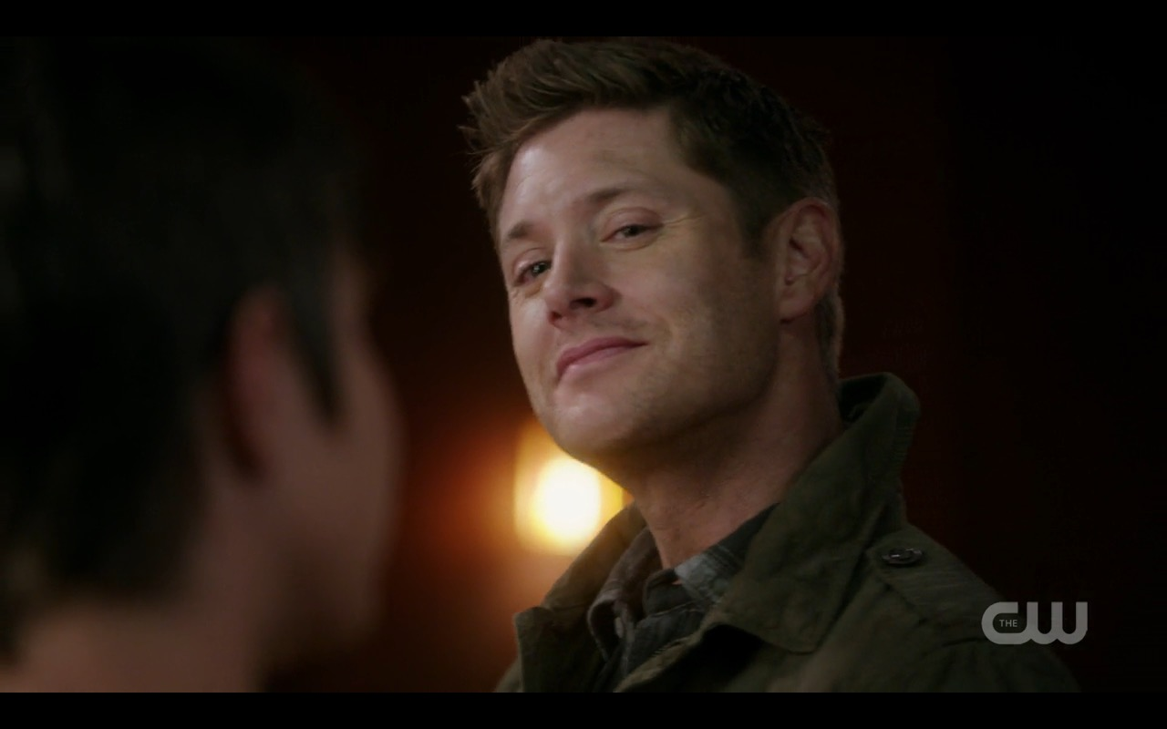 supernatural 1206 dean winchester welcome for killing hitler