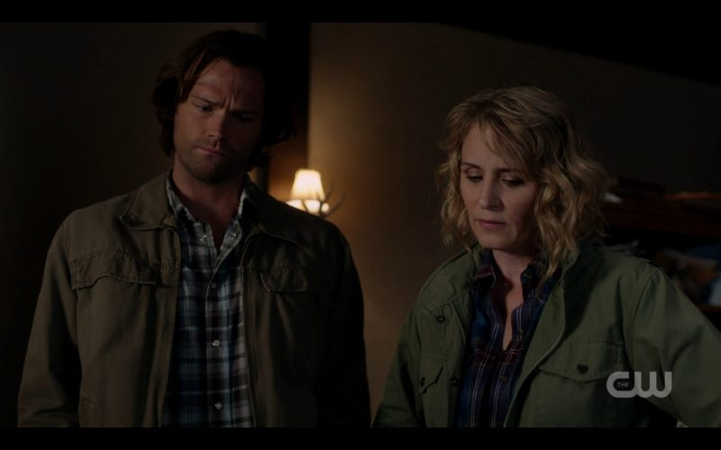 supernatural 1206 sam winchester looking down at mary