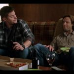supernatural 1206 winchester brothers eating pizza