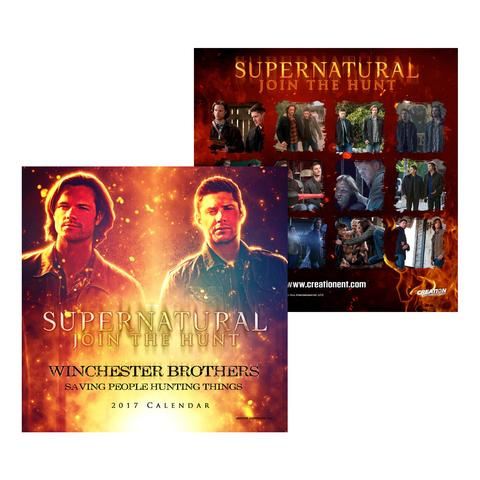 supernatural winchester brothers calendar hot holiday gifts