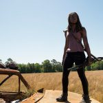 the walking dead 704 michonne with gun