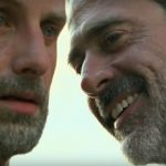 the walking dead negan taunting rick with blowing load 2016