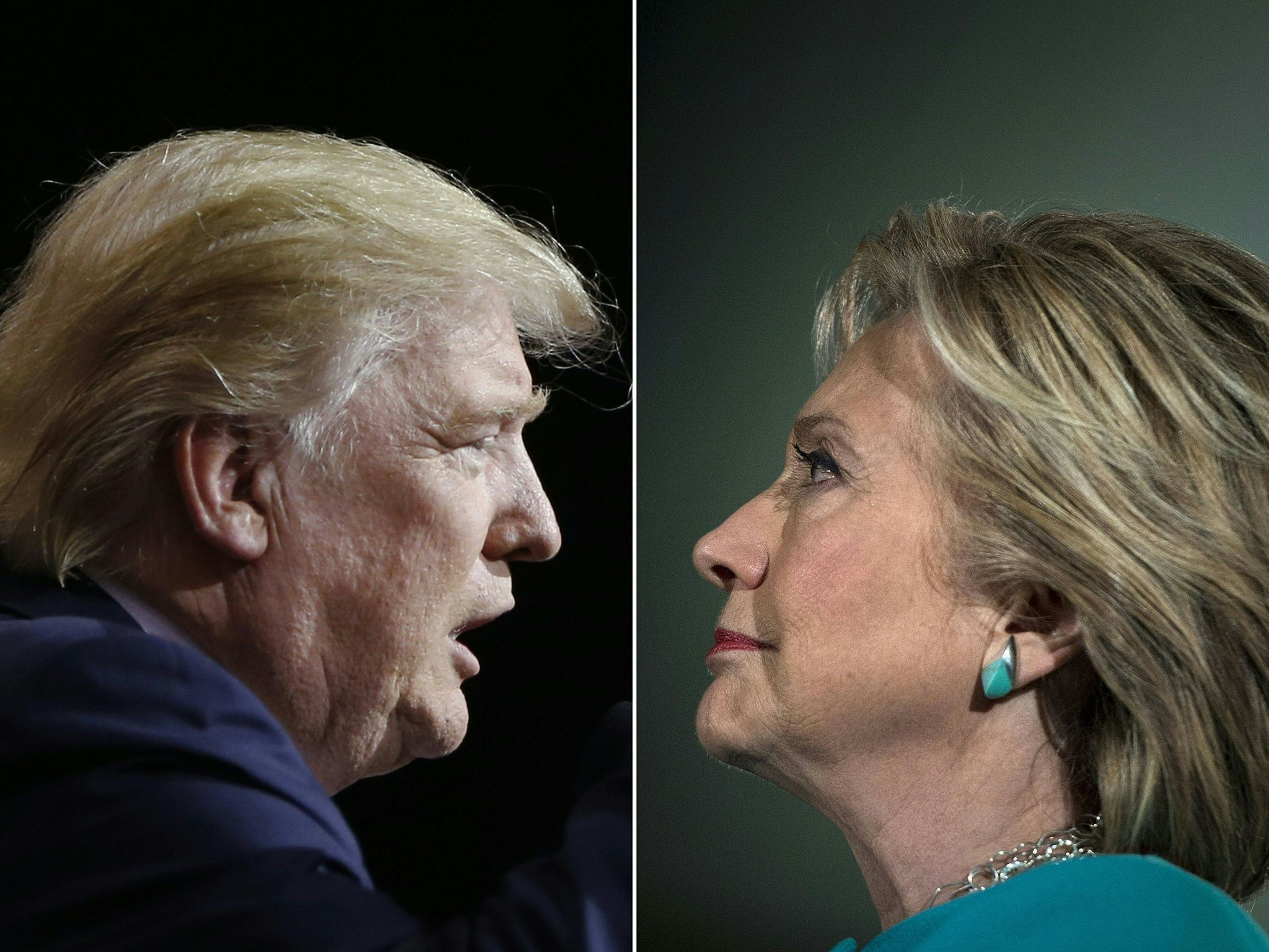 todays its our choice trump or clinton