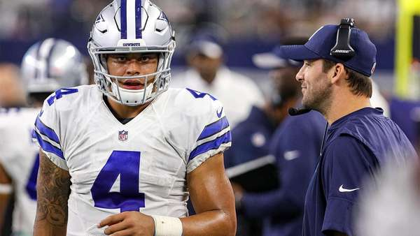 tony romo good to go with dak prescott backup on cowboys