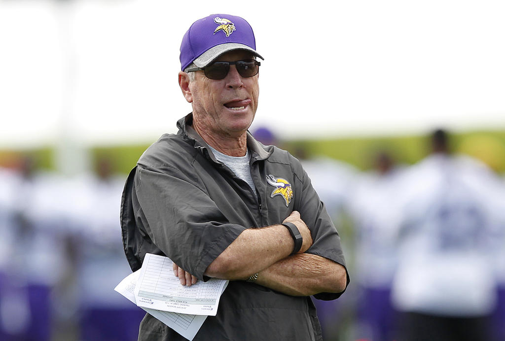 norv turner leaves struggling vikings 2016 images