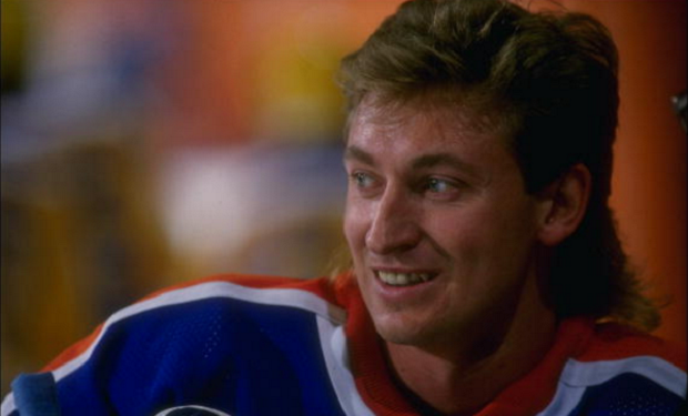wayne gretzky getting simpsons treatment