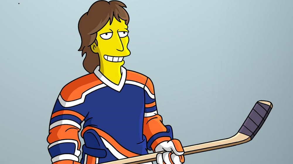 wayne gretzky taking on the simpsons 2016 images