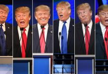 which version of donald trump would run the white house 2016 images