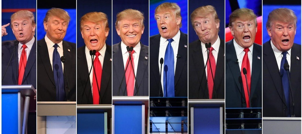 Which version of Donald Trump would run the White House? 2016 images