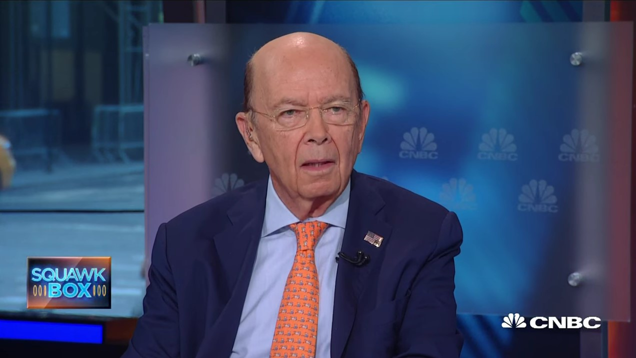 donald trump calling on wilbur ross for commerce secretary 2016 images