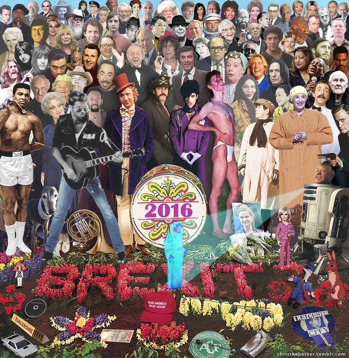 top celebrity deaths of 2016 images
