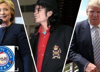 Connecting Michael Jackson's death to Hillary Clinton related fake news 2016 images