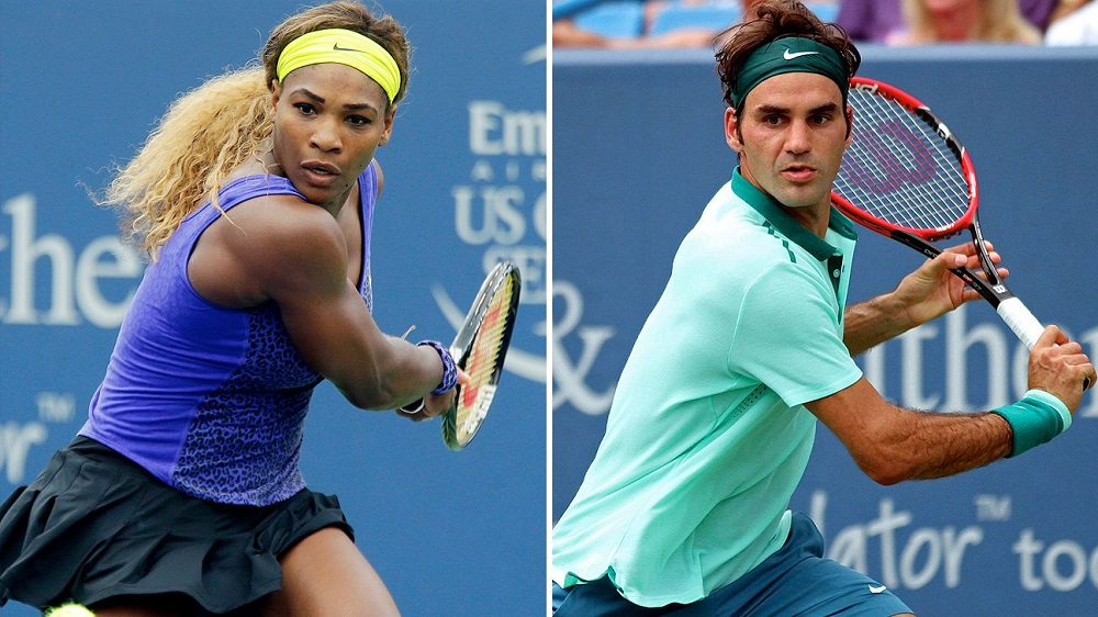 Roger Federer out of IPTL as Serena Williams withdraws 2016 images