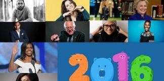 Top 10 Most Inspiring Celebrities of 2016 images