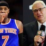 carmelo anthony phil jackson coming to terms with meeting 2016 images