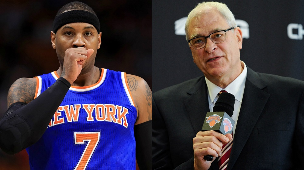Carmelo Anthony and Phil Jackson coming to terms with meeting 2016 images